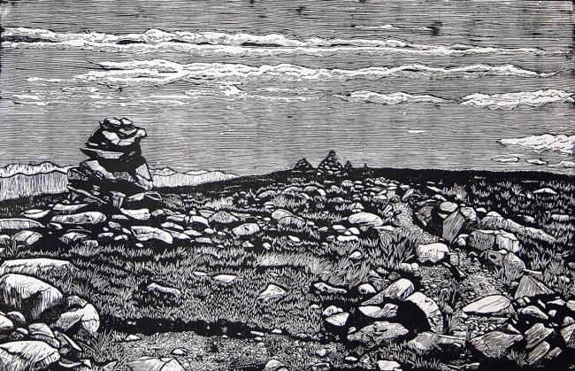 Mount Moosilauke - B&W